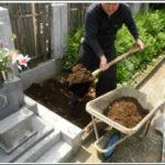 東京都新宿区●●家墓石工事