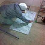 埼玉県浦和区邸エントランス石貼り工事