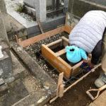 東京都練馬区 新規墓石工事