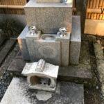 東京都文京区 お墓の花立修理
