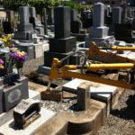 茨城県結城市墓石改修工事