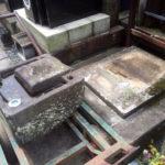 足立区墓地撤去工事