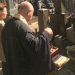 文京区 お寺様の墓地で改修工事