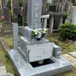 新宿区大久保 戒名彫りと納骨作業