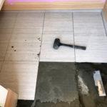 横浜市保土ケ谷区玄関石貼り工事
