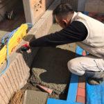 豊島区高田 新築現場の外構工事
