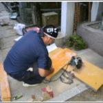 東京都●●家墓石工事