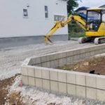 練馬区新築住宅外構工事