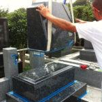 東京都八王子市墓石工事