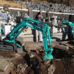 東伊豆町営墓地解体工事