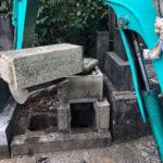 文京区撤去工事