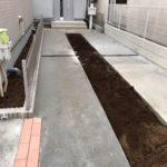 東京都北区の新築外構工事