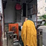 安禅寺境内地蔵様のお堂周り敷石工事