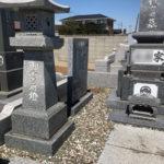 茨城県 墓誌の修繕工事