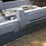 茨城県常総市墓石工事