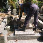 東京都小平 霊園墓地返納工事