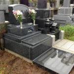 横浜市営墓地墓石工事