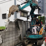 養昌寺ブロック塀改修工事