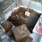 文京区本郷 暮石の解体撤去