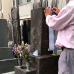 東京都新宿区戒名彫り