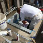 新宿区宝蔵寺墓石改修工事