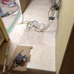 板橋区マンション大理石貼り工事
