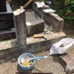 神奈川県寒川町 墓地修理