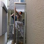 東京都板橋区屋根付き物置工事