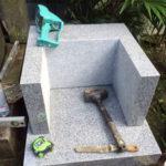 東京都北区墓石工事