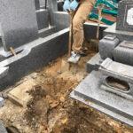 茨城県墓石改修工事